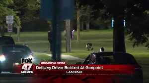 Pizza delivery driver robbed at gunpoint in Lansing [Video]