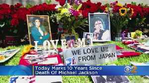Michael Jackson Fans Mark 10 Years Since Singer's Death [Video]