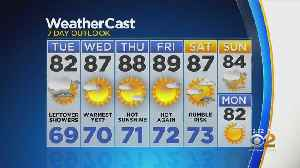 New York Weather: 6/25 Tuesday Afternoon Forecast [Video]