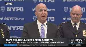 NYPD Briefing On Pride Parade Security [Video]