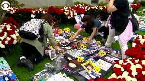 WEB EXTRA: Michael Jackson Fans At Cemetery [Video]