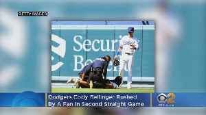 Codymania: Dodgers Cody Bellinger Rushed By Fan In Second Straight Game [Video]