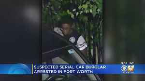 Suspected Serial Car Burglary Caught By Fort Worth Police [Video]