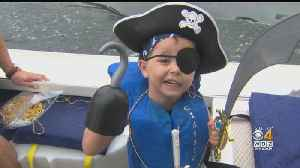 Kids Battling Cancer Get To Play Pirates On North Shore [Video]