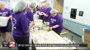 Volunteers packed thousands of summer meals [Video]