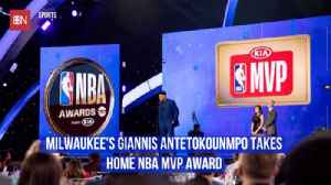 Giannis Antetokounmpo Is The NBA MVP [Video]
