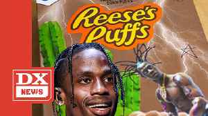 Travis Scott Is Selling Customized Reese's Puff Cereal Boxes For $50 [Video]