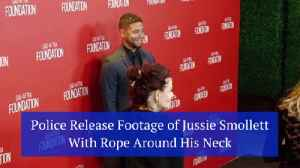 The Police Show New Footage In Jussie Smollett Case [Video]