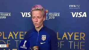 Trump Slams Megan Rapinoe Over White House Visit Comment: 'Never Disrespect Our Country' [Video]