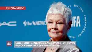Judi Dench Has A Very Different View Of Kevin Spacey And Harvey Weinstein [Video]