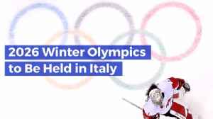 Pack Your Bags...The Olympics Head To Italy [Video]