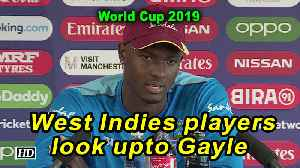 World Cup 2019 | West Indies players look upto Gayle: Holder [Video]