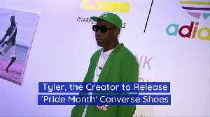 Tyler, the Creator to Release 'Pride Month' Converse Shoes [Video]