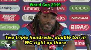 World Cup 2019 | Two triple hundreds, double ton in WC right up there: Gayle [Video]