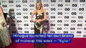 Kylie Jenner and Kylie Minogue Are in a Cosmetics Battle [Video]
