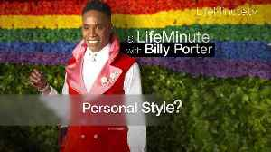 A LifeMinute with Billy Porter [Video]