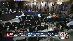City discusses where to sell medical marijuana [Video]