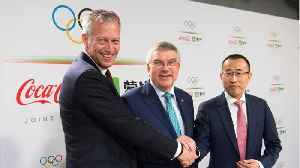 Coca-Cola teams up with Chinese dairy company in Olympic partnership deal [Video]
