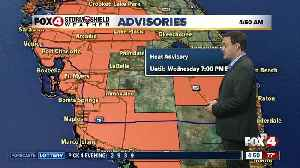 Forecast: Another hot day with highs in the 90's with afternoon storms expected [Video]