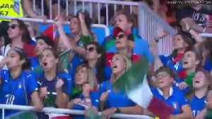 FIFA Women's World Cup   Italy vs China   Highlights [Video]