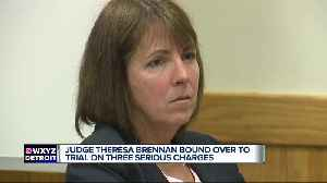 Livingston County Judge Theresa Brennan bound over for trial [Video]
