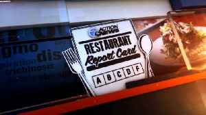 Hey, Wayne! It's Restaurant Report Card time! [Video]