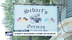 Scharf's, a West Seneca staple, closing after decades of business [Video]