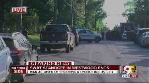 Jacob Julick, suspected of shooting at officers, arrested after hours-long standoff [Video]