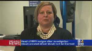 Head Of RMV Resigns After Fatal NH Crash [Video]