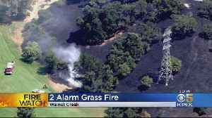 Brush Fire Near Walnut Creek Golf Course Extinguished [Video]