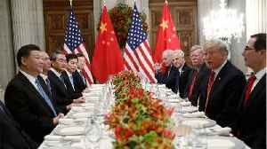 U.S. Hopes To Re-Launch China Trade Talks