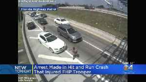 Driver Accused Of Hitting & Injuring FHP Trooper Arrested In New York [Video]