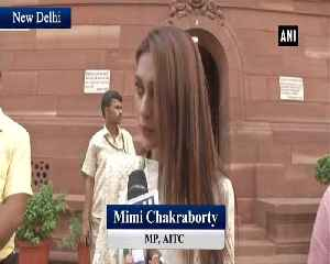 News video: TMC Mimi Chakraborty draws parallels between film and politics say we are for the people