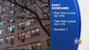 Increases Approved For Rent Stabilized Apartments [Video]