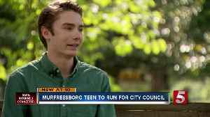 17-year-old puts in bid to run for Murfreesboro City Council [Video]