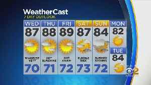 New York Weather: CBS2 6/25 Nightly Forecast at 11PM [Video]