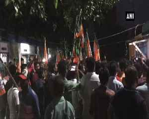 BJP workers stage protest over increasing violence in WB [Video]