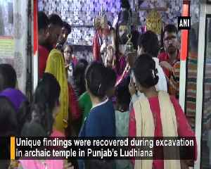 Colonial coins, serpents, shivlings found during excavation in Ludhianas temple [Video]