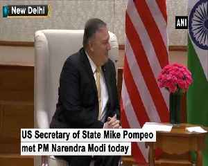 US Secretary of State Mike Pompeo meets PM Modi [Video]