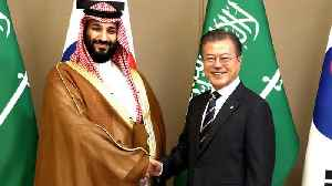 News video: Saudi Crown Prince MBS visits Seoul for trade deals