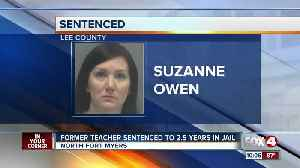 Former teacher in Fort Myers sentenced for sexual relationship with student [Video]