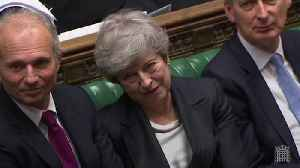 Theresa May backs Hunt and Johnson during PMQs