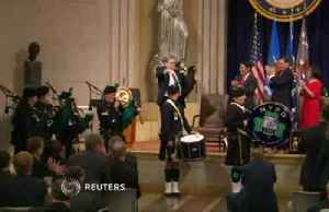 AG Barr whips out the bagpipes [Video]