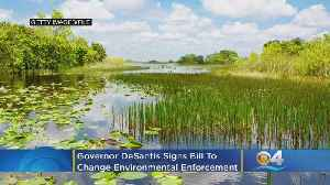 Florida Governor Signs Bill To Change Environmental Enforcement [Video]
