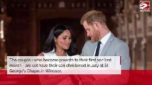 The Duke and Duchess of Sussex 'buck tradition' for Archie's christening [Video]