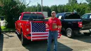 News video: Alabama Ford Dealership Is Giving Away Shotgun, Bible And Flag To Its Customers