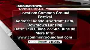 Around Town - Common Ground Music Festival - 6/26/19 [Video]