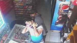 Store Clerk Choked Unconscious, Stabbed In Queens Robbery [Video]