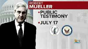 Robert Mueller To Testify Before Congress [Video]