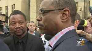 Cuba Gooding Jr. Appears Outside NYC Court [Video]